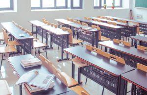 classroom, school, desks, learning